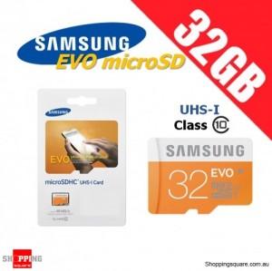 Samsung 32GB EVO UHS-I Micro SDHC Memory Card Grade 1 Class 10 48MB/s