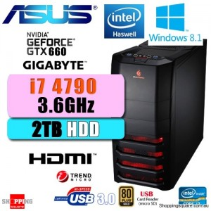 Apus Gaming I7 4790 Win 8 Desktop PC