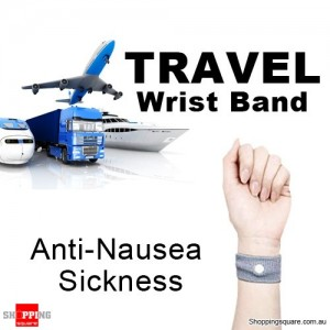 Travel Wrist Band for Anti Nausea Car Sea Sick Sickness