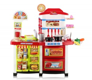 Pretend Play Fast Food Kitchen Center