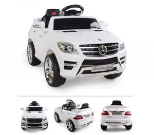 Kids Electric Ride On Mercedes-Benz 4matic ML350-White