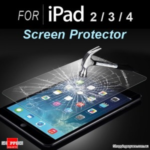 For iPad 2 3 4 Premium Real Tempered Glass Film Screen Protector