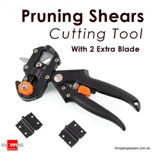Fruit Tree Professional Pruning Shears Grafting cutting Tool With 2 Extra Blade