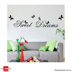 Sweet Dream Removable Nursery Wall Stickers Decal Home Kids Bedroom