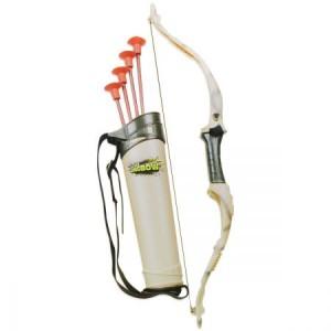 Huntsman Long Bow & Arrow Toy Archery Set