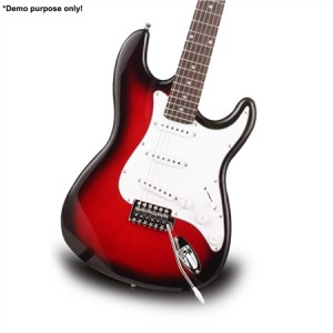 "Red Colour 39"" Electric Guitar Pack"