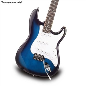 "Blue Colour 39"" Electric Guitar Pack"