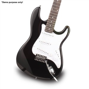 "Black Colour 39"" Electric Guitar Pack"