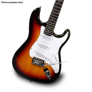 "3TS Colour 39"" Electric Guitar Pack"