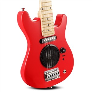 "Polished Red 30"" Kids Electric Guitar Pack"