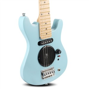 "Polished Blue 30"" Kids Electric Guitar Pack"