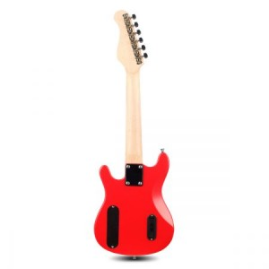 Kids Electric Guitar Built-In Speakers Bonus Accessory set & Amplifier- Red