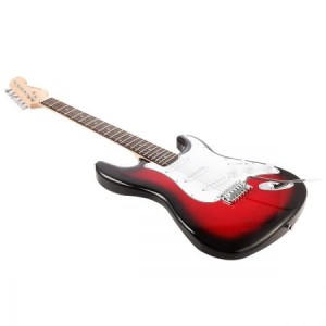 "39""Electric Guitar w/Bonus Accessory set & Stand & Amplifier Red colour"