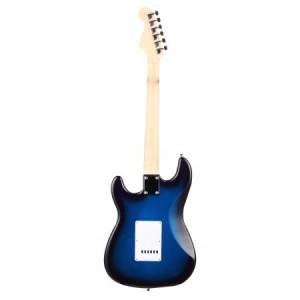 """39""""Electric Guitar w/Bonus Accessory set & Stand & Amplifier Blue colour"""