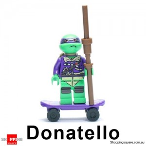 Ninja Turtles 2 Series Donatello A Mini Figure