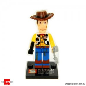 Woody Bricks Man Mini Figure- Style B
