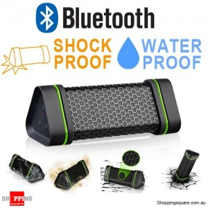 EARSON Waterproof Outdoor Bluetooth Sports Wireless Speaker for iPhone Samsung Car