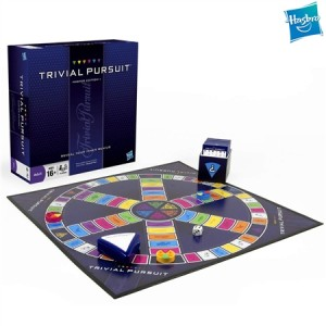 Trivial Pursuit Master Edition Board Game