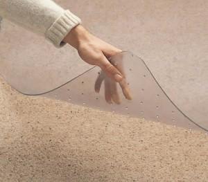 Vinyl Floor Mat for Carpet Floors - 1200 x 900 mm