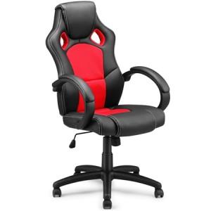Race Car Style PU Office Chair