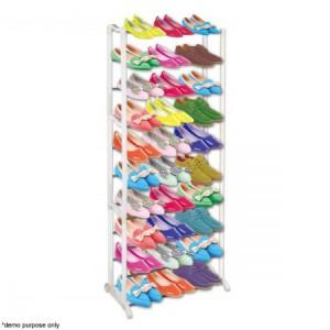 30 Pair Shoe Rack