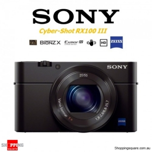 Sony Cyber-Shot DSC-RX100 III Mark 3 Digital Camera Black