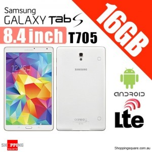 Samsung Galaxy TAB S 16GB T705 8.4 Inch 4G LTE Andriod Tablet White