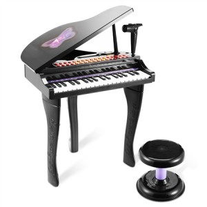 Deluxe Black Electronic Organ
