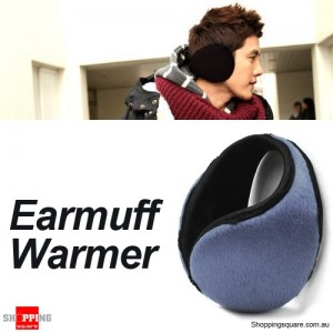 Soft Fleece Earmuff Warmer for Men Women Unisex Grey Colour
