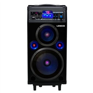160W Rechargeable Portable Bluetooth Speaker Music System