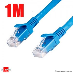 1M RJ45 CAT5 Ethernet Lan Internet Network Cable