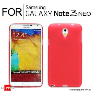 Cover Case for Samsung Note3 Neo N750 Red Colour