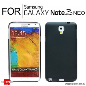 Cover Case for Samsung Note3 Neo N750 Black Colour