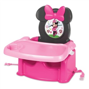Disney Baby Minnie Mouse Table Booster Seat
