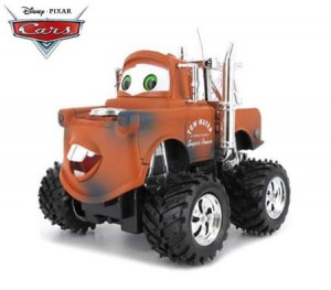 Disney Pixar Cars Tow Mater Car Toy with Moving Eyes and Mouth