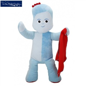 In The Night Garden Jumbo Huggable Iggle Piggle Plush Toy