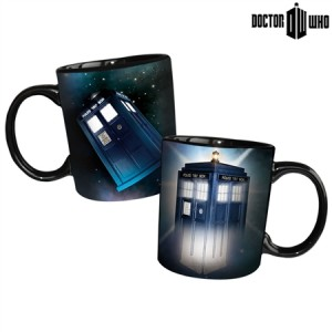 Collectable Doctor Who Disappearing TARDIS Mug