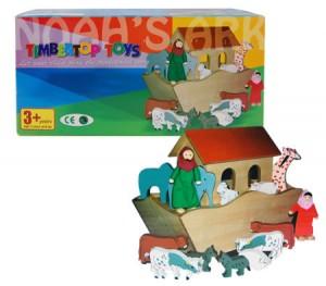 Timbertop Toys Wooden Noah's Ark Play Set