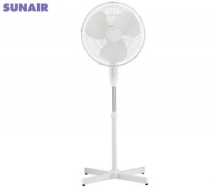 Sunair 40cm Pedestal Fan with Oscillating Head