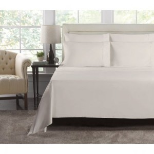 Single Bed Cream 1000 Thread Count Luxury Fitted Sheet Set