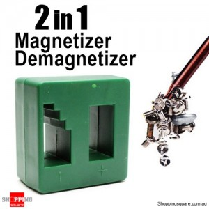 2 in 1 Magnetizer + Demagnetizer Magnetic Tool for Screwdriver