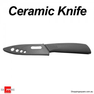 Ceramic Knife Kitchen Cutlery Professional Tools 102mm Black Colour
