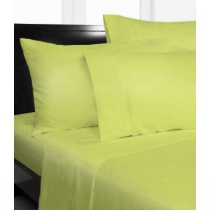 Single Bed Microfibre Green Fitted Sheet Combo Pack
