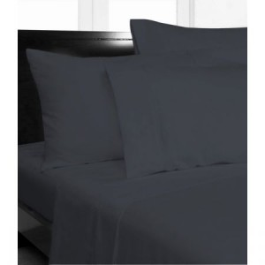 Single Bed Microfibre Grey Fitted Sheet Combo Pack
