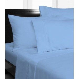 Single Bed Microfibre Sky Fitted Sheet Combo Pack