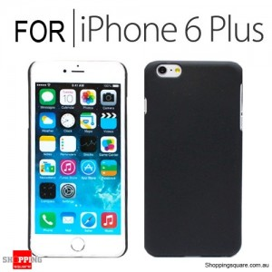 New Hard Back Case Cover for iPhone 6 Plus/6S Plus 5.5 inches Black Colour