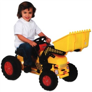 Pedal Tractor with Front End Loader