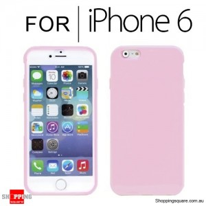 New Soft Gel Case Cover for iPhone 6S/6 4.7 inches Pink Colour