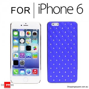 Shining Diamond Case Cover for iPhone 6S/6 4.7 inches Blue Colour