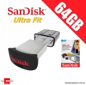 SanDisk Ultra Fit 64GB USB Flash Drive 3.0 Memory Stick Pendrive Thumb 150MB/s